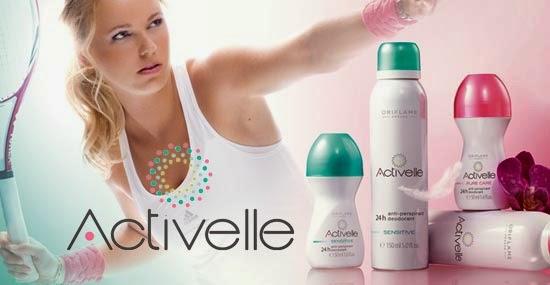 Первая ракетка мира Каролина Возняцки представляет Шариковый дезодорант-антиперспирант с ухаживающим комплексом «Активэль»