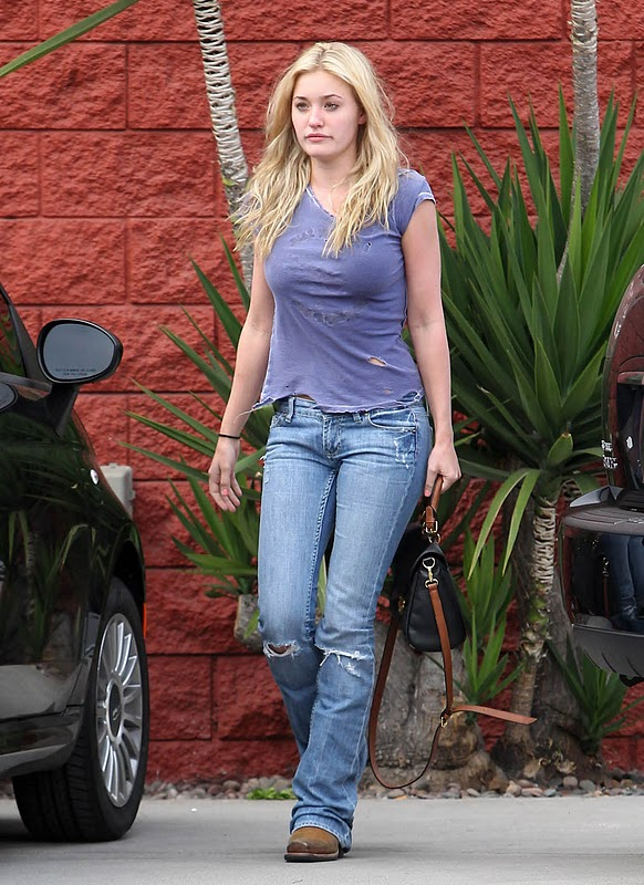 AJ Michalka - Leggy Candids in Beverly Hills