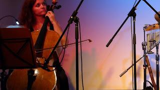 Merike Hilmar avec Gandalf en concert à Lindlar / photo S. Mazars