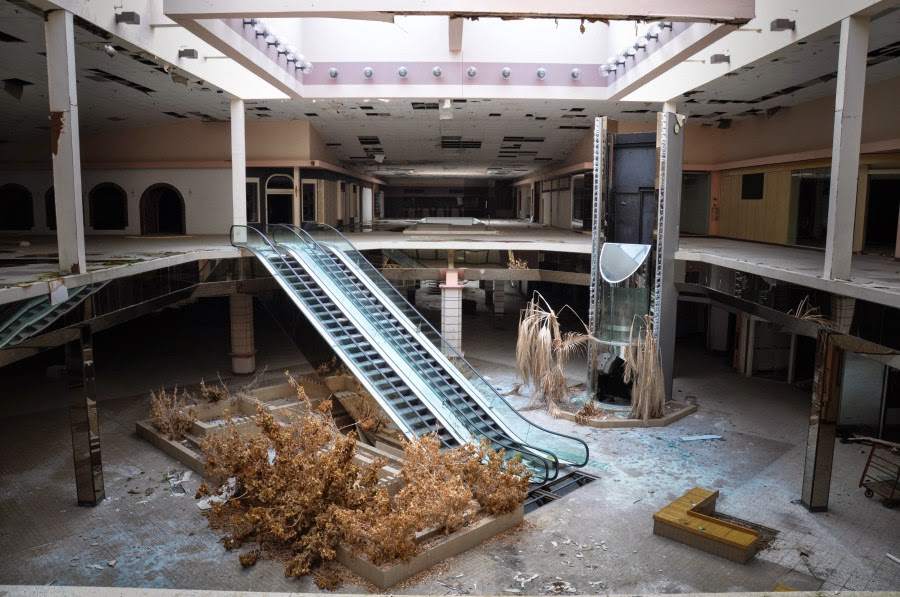 Mike Lynch Cartoons Abandoned Malls