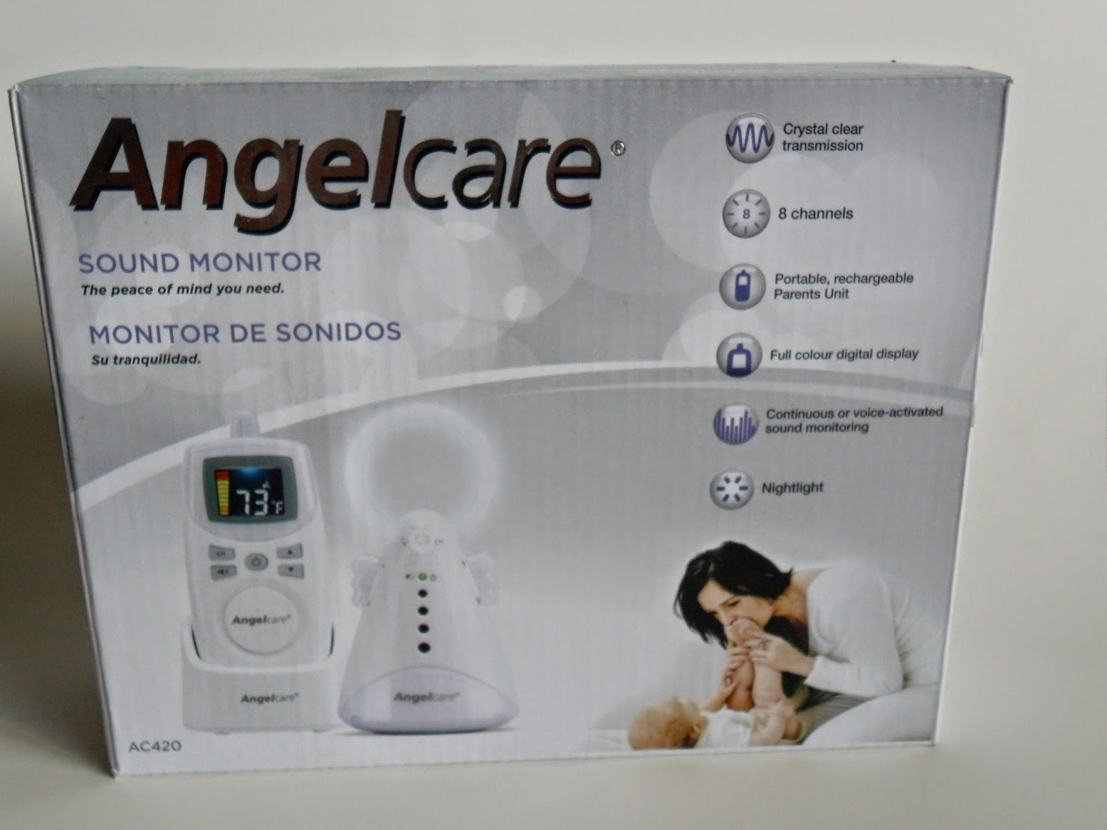 Angel Care Baby Monitor AC420. Review (Blu me away or Pink of me Event)