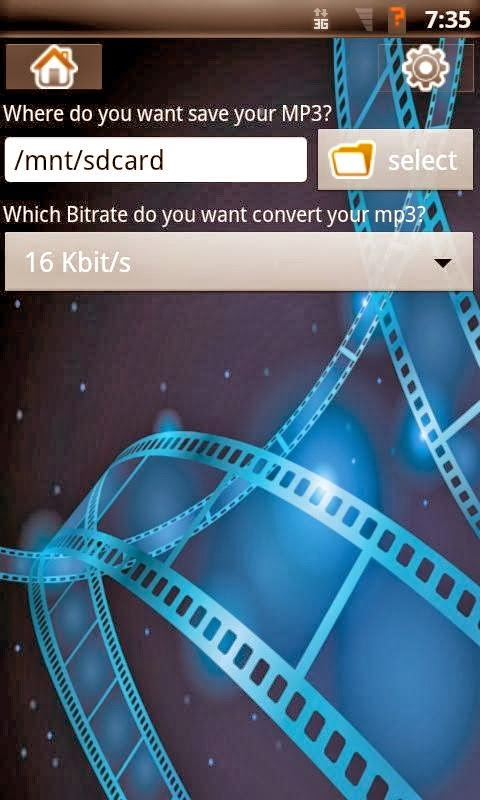 تطبيق مجاني للأندرويد لتحويل الفيديوهات الي ملفات صوتية video converter mp3 APK 1.4.9
