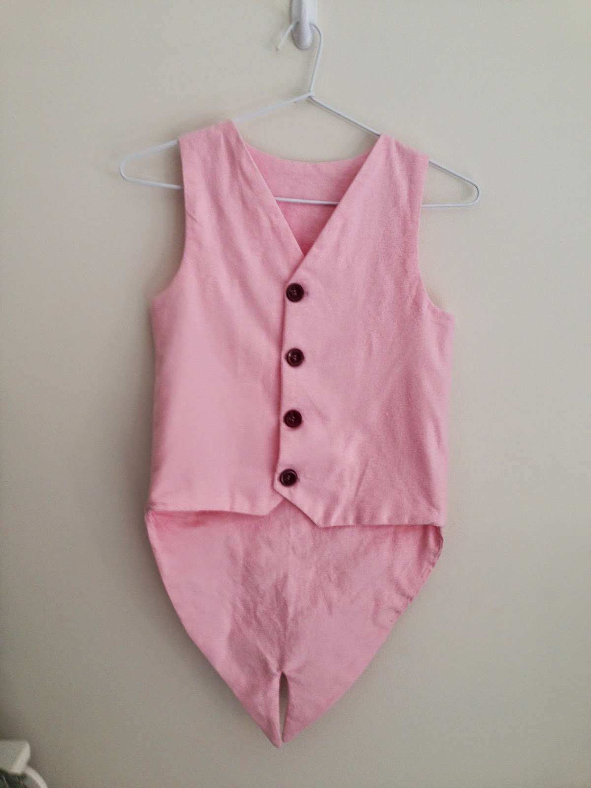 Schoolboy Vest Pig dress ups