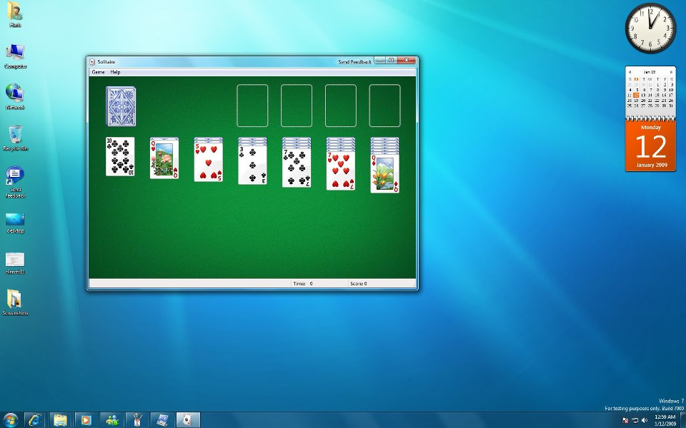 windows 7 solitaire hack helping hand