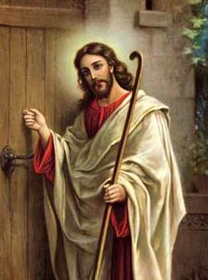 Jesus Knocking Door IPhone Wallpaper