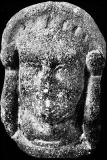 Dama de Comodoro, phoenician carving, Patagonia