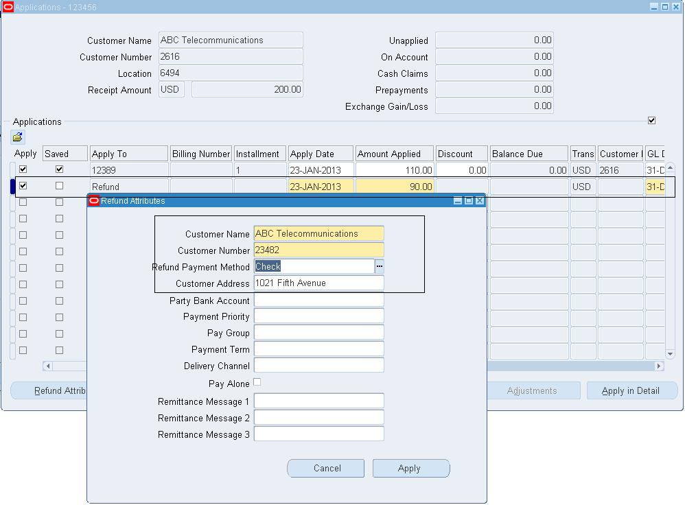 Oracle Concepts For You: Ar Accounting Entries Process In Oracle Apps