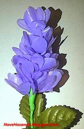 Cara Membuat Bunga Lavender dari Kantong Plastik Bekas 6bef1e9c69