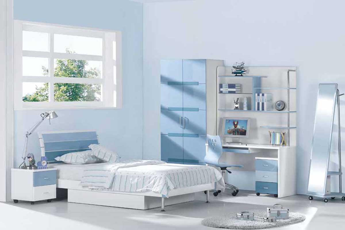 Blue bedrooms for kids wonderful Blue bedroom
