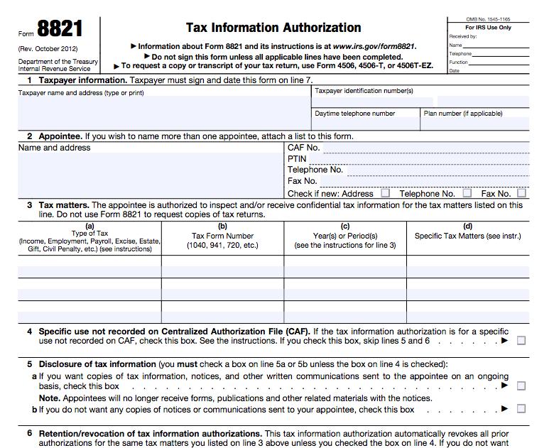 Massachusetts / Rhode Island NATP Chapter: A Reminder About IRS ...