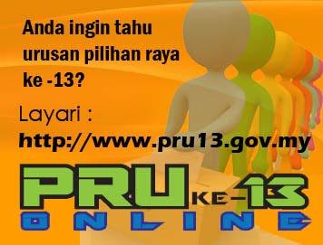 Maklumat Terkini PRU13