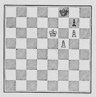 Chess Pawn Endings Example 1