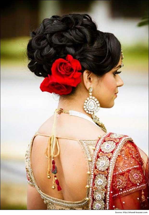 Soft Curled Bun Hairstyles   Hair Tips   Bridal hair Style