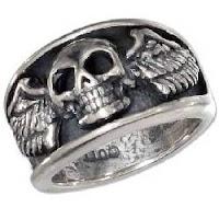 Sterling+silver+skull+rings