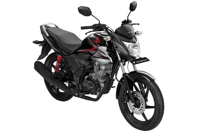 warna honda verza maskulin black