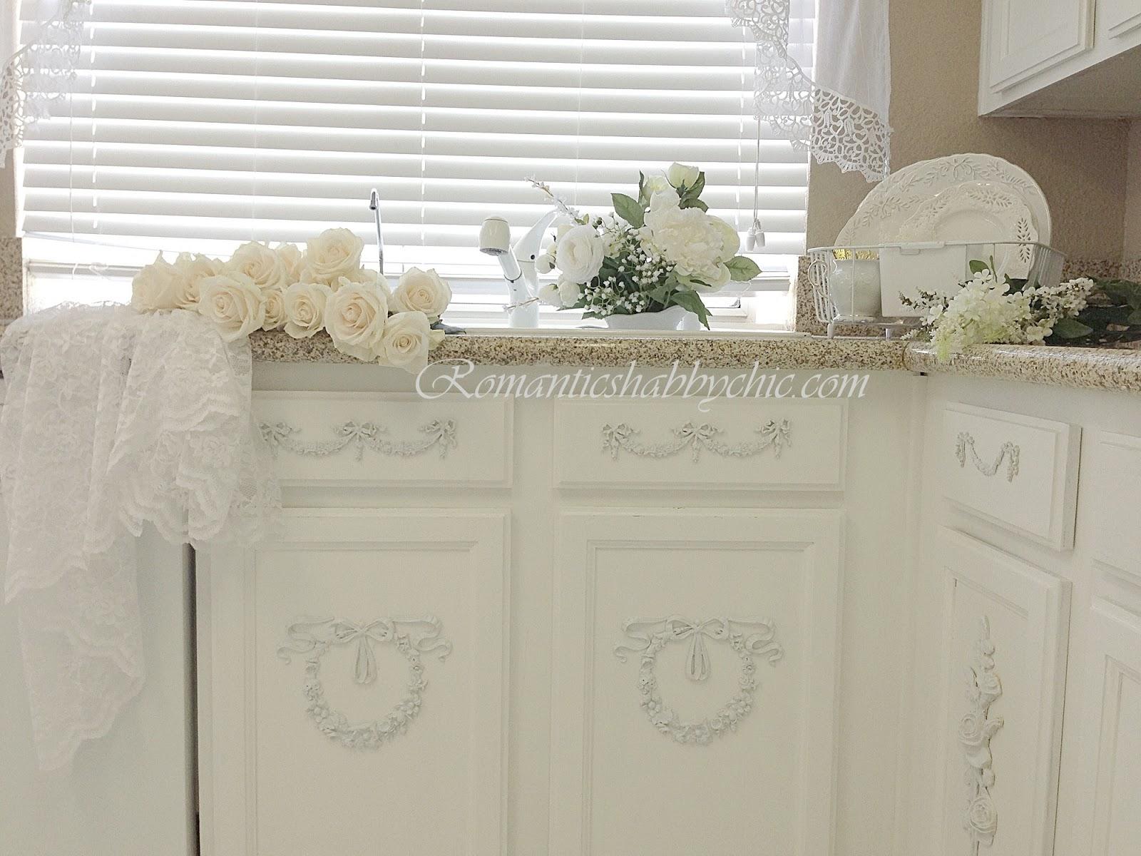 Romantic shabby chic home romantic shabby chic blog - Com Romantic Shabby Chic Kitchen Romantic White Kitchen