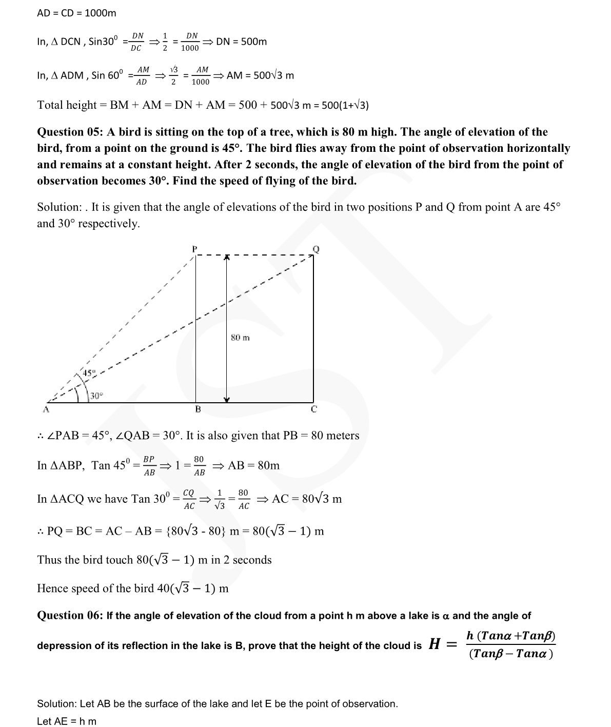 Mcq Questions For Class 10 Maths Trigonometry learncbse in cbse class 10 maths some