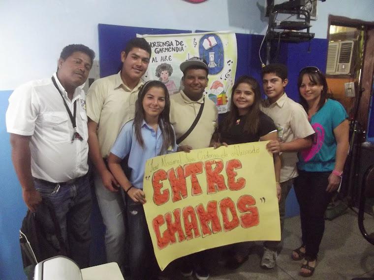 ENTRE CHAMOS PROGRAMA DIRIGIDO  POR LOS ESTUDIANTES DEL LICEO LIGIA CADENAS