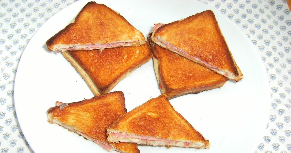 Les recettes chouettes de sissi croque monsieur hyper simple - Sachet cuisson croque monsieur grille pain ...