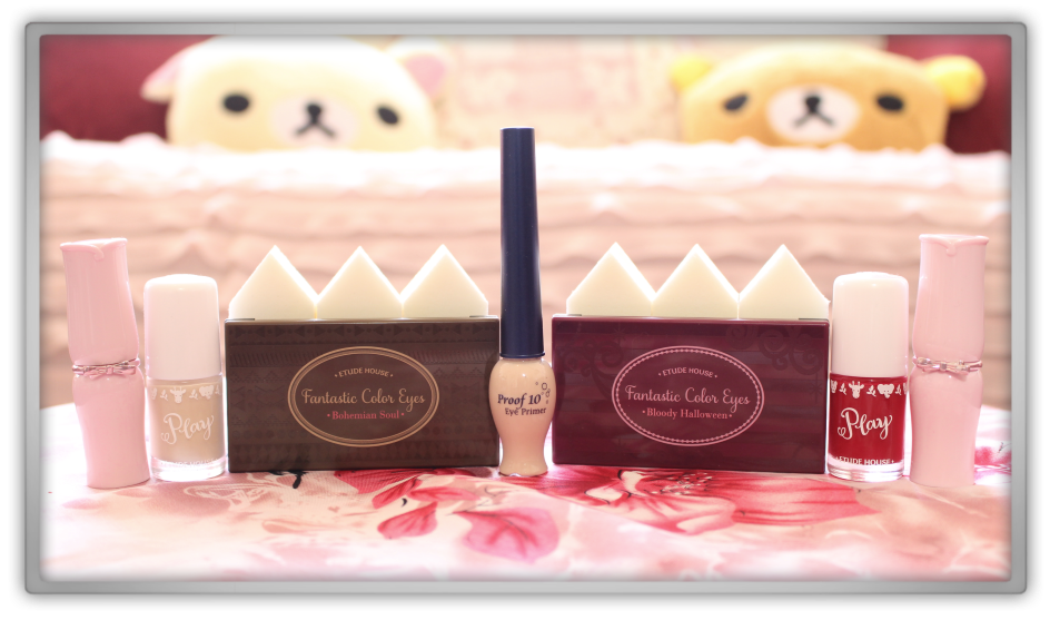 Jolse Special Korean cosmetics haul review 2015 preview makeup beauty blogger Etude House Dear My Wish Lips Talk Fantastic Color Eyes play nail