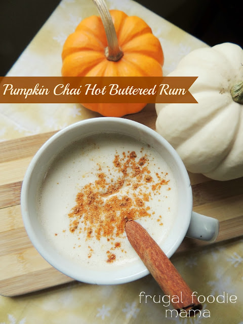 Pumpkin Chai Hot Buttered Rum - White Lights on Wednesday