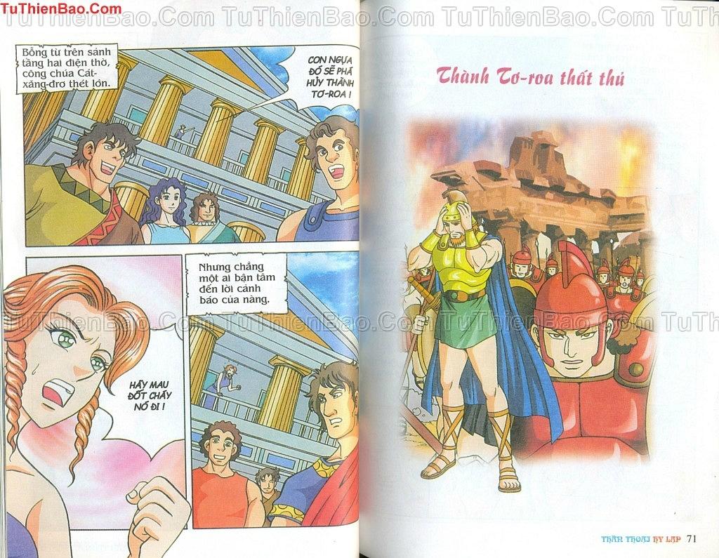 Thần thoại Hy Lạp Chapter 14 - Trang 34
