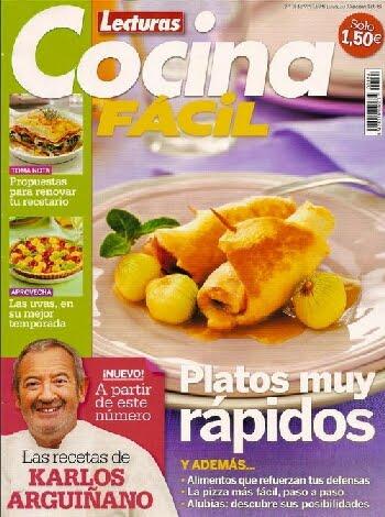 Lecturas cocina f cil diciembre 2010 pdf - Revista cocina facil lecturas ...