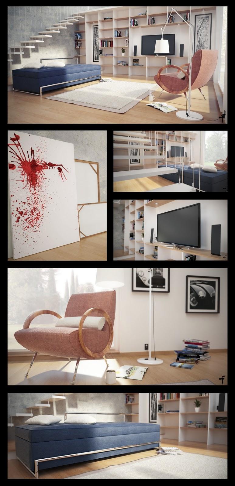 [F]  The f render Gallery Loft+composocion