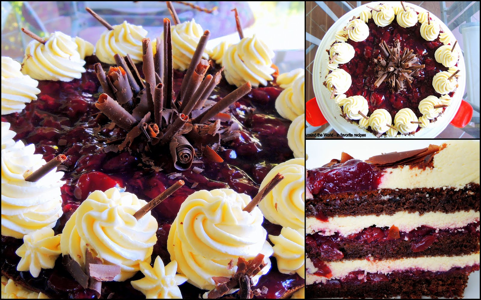 Around The World In Favorite Recipes Black Forest Cake
