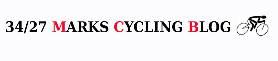 34/27 Marks Cycling Blog