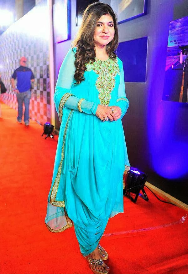 Alka Yagnik at Mirchi Music Awards 2014