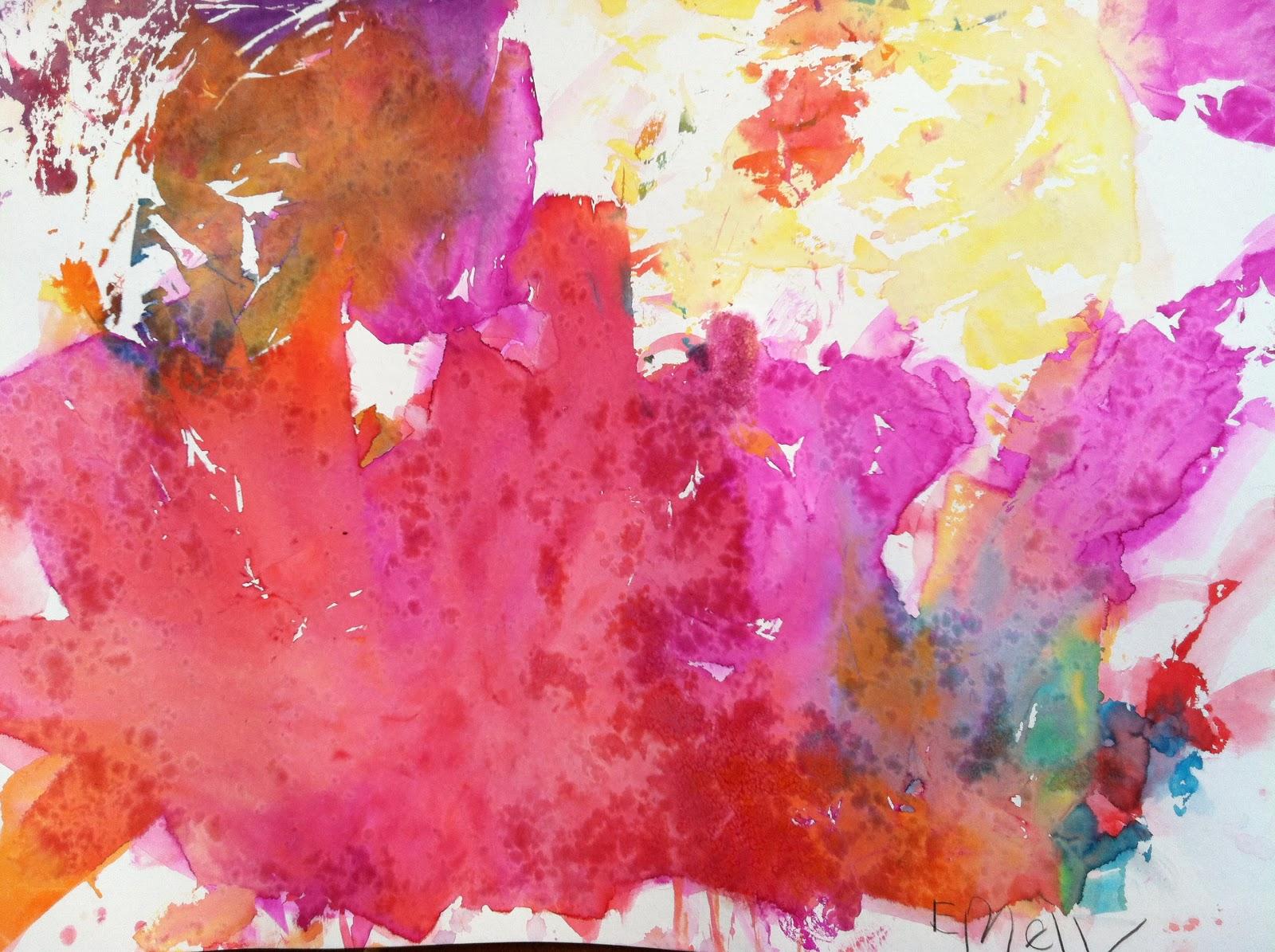 Miss Tina 39 S Art Class September Helen Frankenthaler New