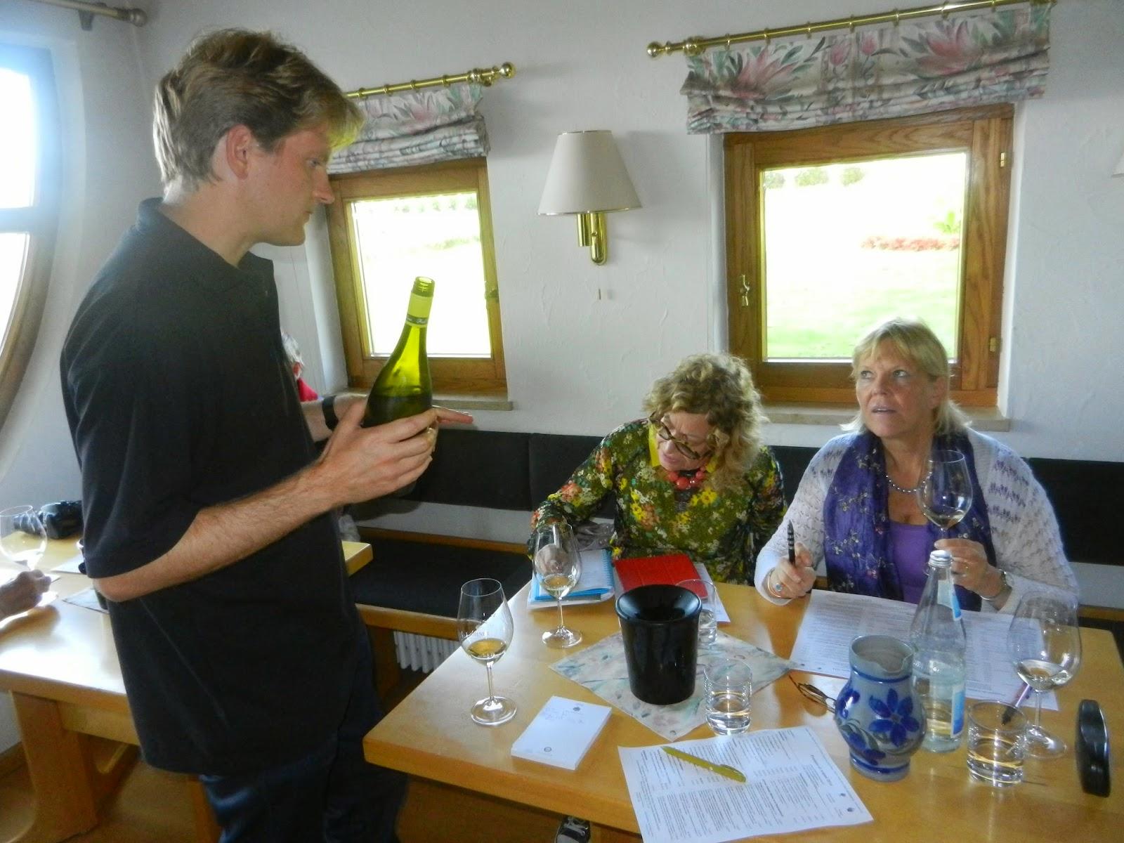 Schiller Wine Weingut Karl Heinz Johner In Baden Cellar