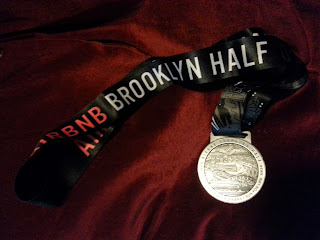 2015 Brooklyn Half medal