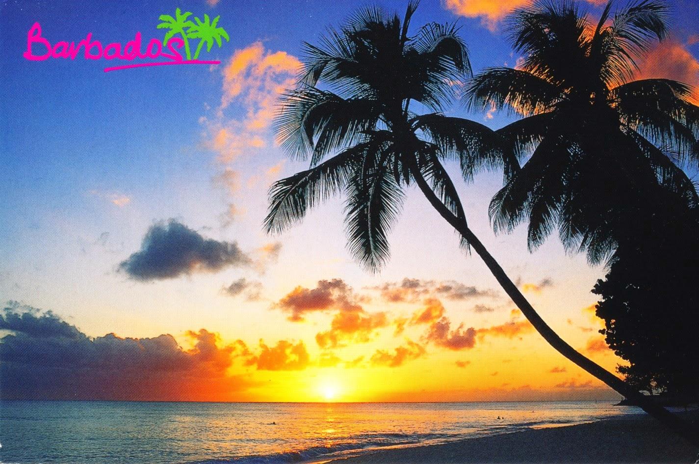 barbados, beach, atlantic ocean, caribbean