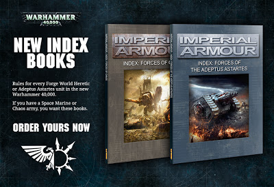 New Imperial Armour Indexes from Forgeworld