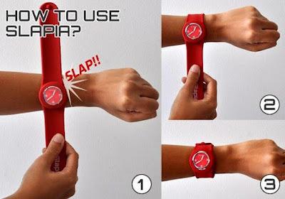 Cara pakai jam tangan SLAPIA
