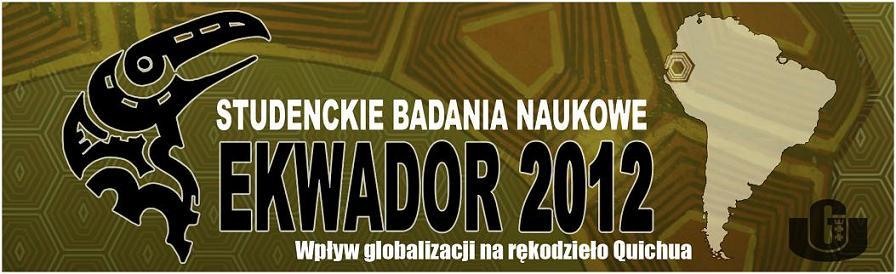 Ekwador 2012 - studenckie badania naukowe