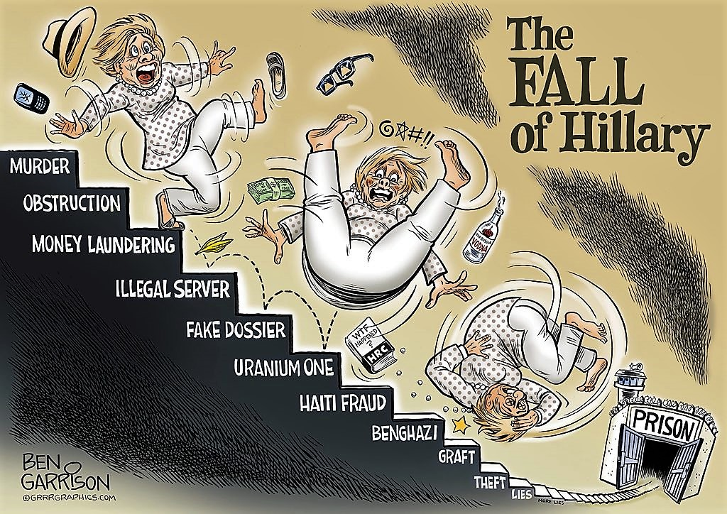 The FALL of Hillary