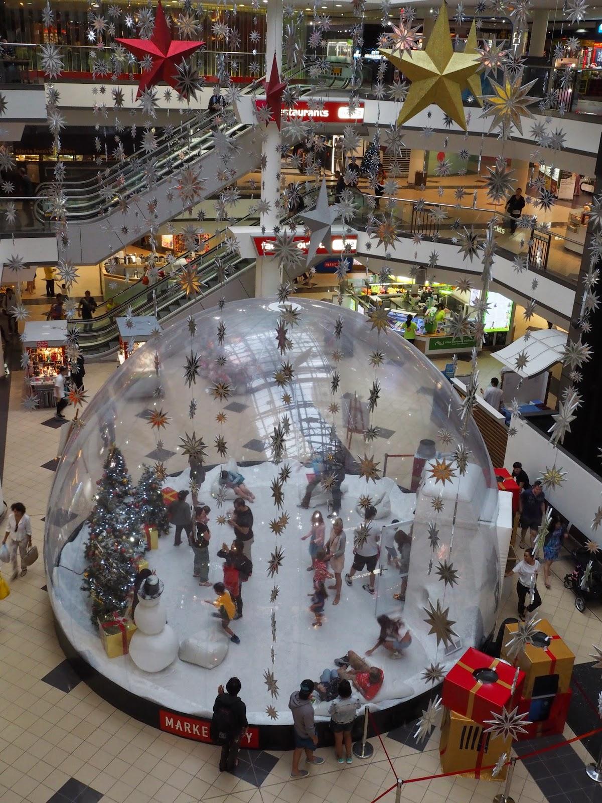 Giant Snow Globe Sydney