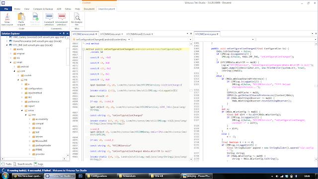Cara Compile dan Decompile Apk dengan PC menggunakan VTS