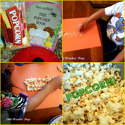 corn theme, popcorn science