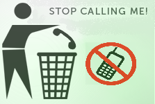 how to stop unknown callers to call on girls mobile number
