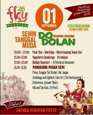 Festival Kesenian Yogyakarta (FKY) 2014