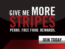 Friday give me more stripes coupons