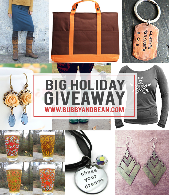 Bubby and Bean's Big Holiday Giveaway // Win 8 Prizes Worth $300!