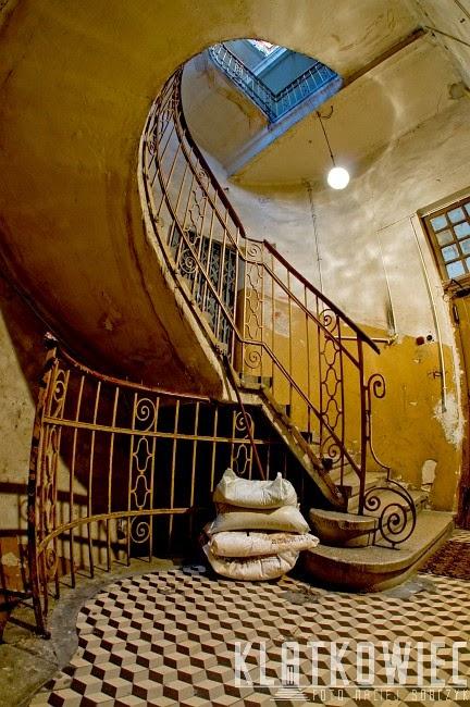 Kręcone schody w Bielsku-Białej