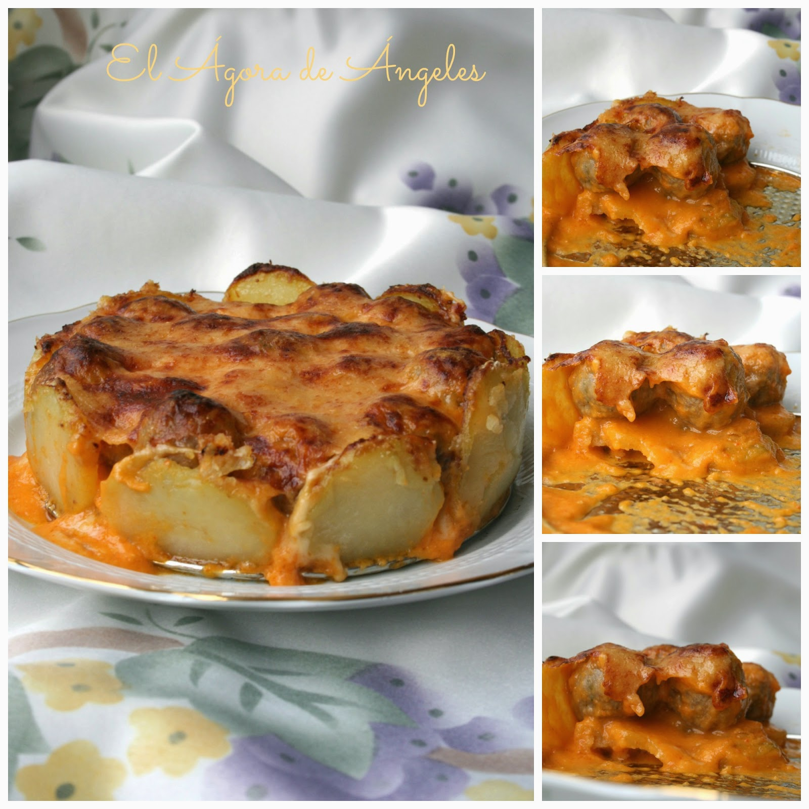 tarta de albóndigas, tartas saladas, albóndigas