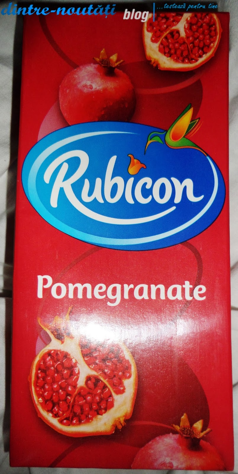 Băutură răcoritoare necarbonată din fructe de rodie Renova Decor suc