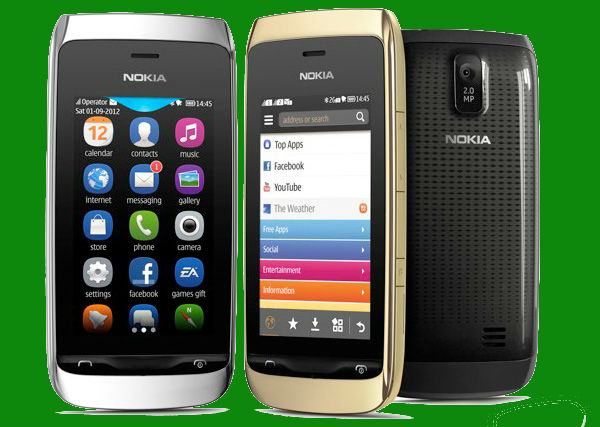Nokia has announced two new budget phones called the Asha 308 and the